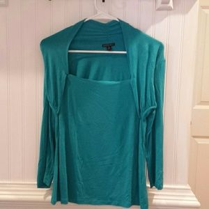 Turquoise Blue Blouse for Women